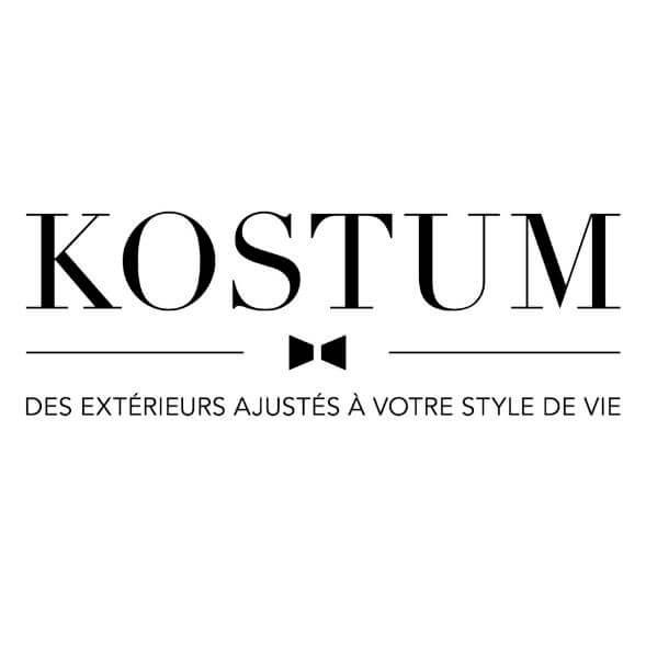 Logo Kostum - Des extérieurs ajustés à votre style de vie